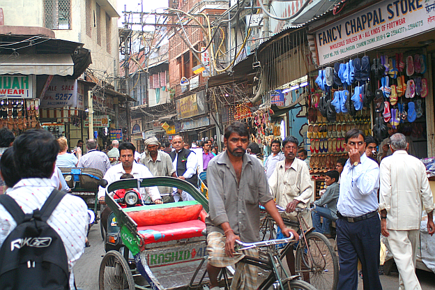 Delhi street with people.png