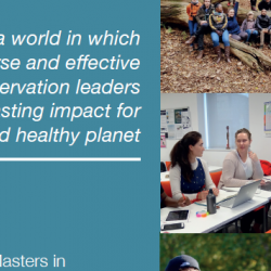 Read more at:  Masters in Conservation Leadership Strategy 2020-2030