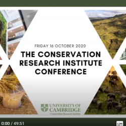 Read more at: The Conservation Research Institute Conference 2020: Playlist